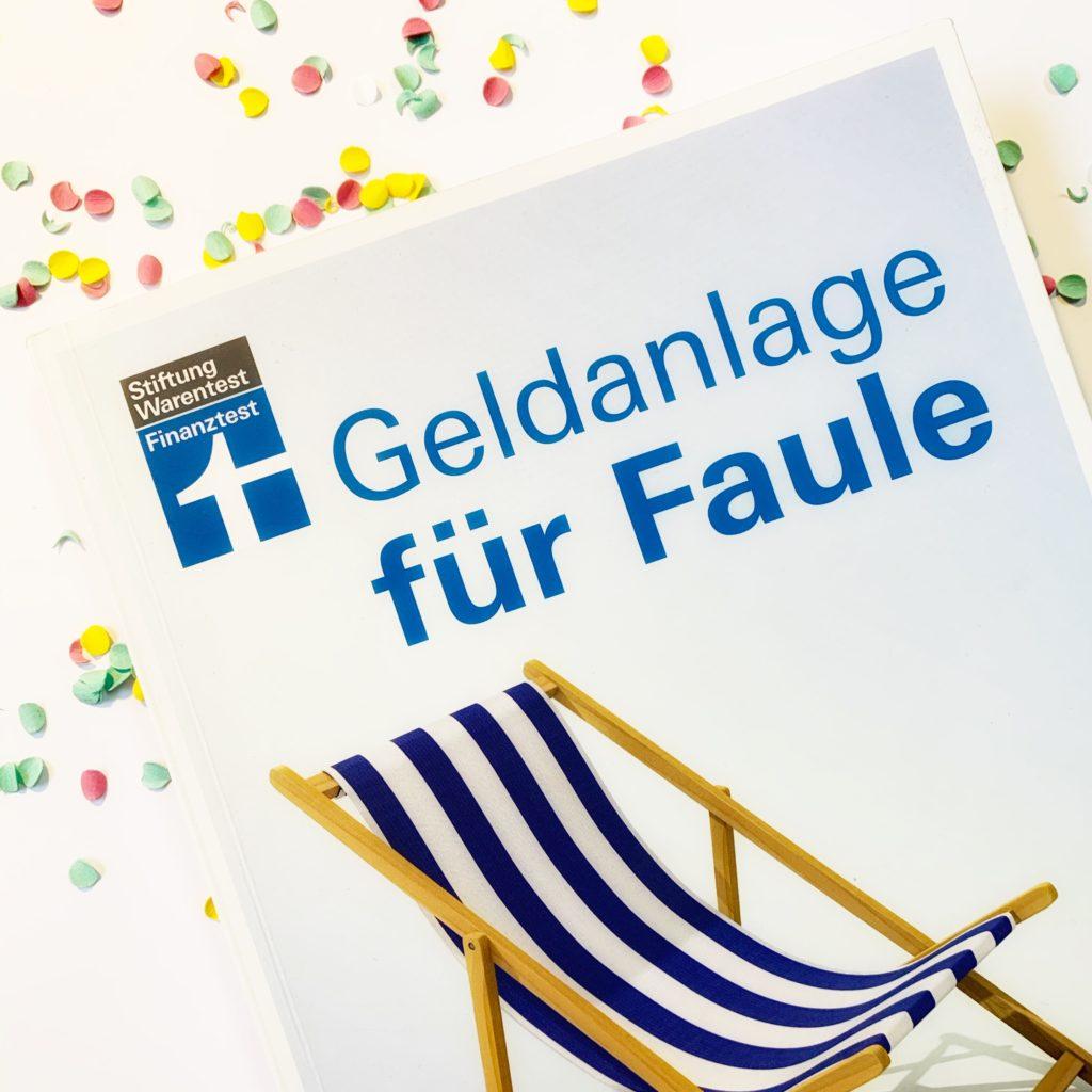 Geldanlage für Faule - Stiftung Warentest