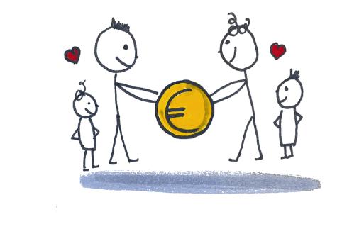 Geld sparen als Familie