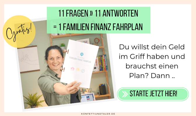 Familien Finanz Fahrplan